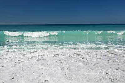 Photograph - Sea Foam Production by Aiolos Greek Collections