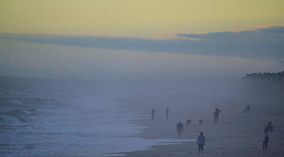 Photograph - Sea Fog by Fall in Love with Moments