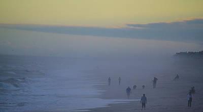 Photograph - Sea Fog by Mary Hahn Ward