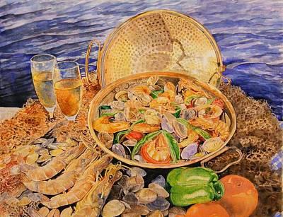 Sea-food Art Print by Ciocan Tudor-cosmin