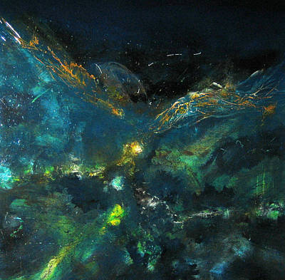 Painting - Sea Galaxy by Michaelalonzo   Kominsky