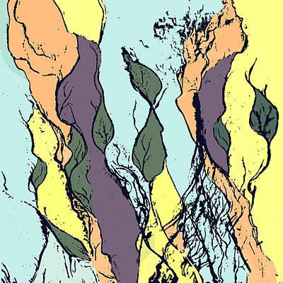 Digital Art - Sea Garden by Deborah Smith
