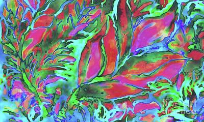 Painting - Deep Sea Garden by Hazel Holland