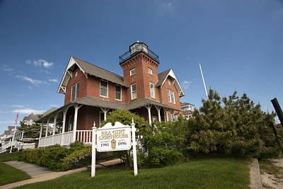Photograph - Sea Girt Lighthouse by Mary Haber