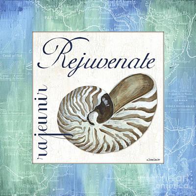 Reptiles - Sea Glass 1 by Debbie DeWitt