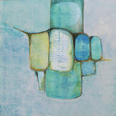 Painting - Sea Glass 2 by Jillian Goldberg