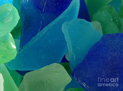 Photograph - Sea Glass by Chad and Stacey Hall