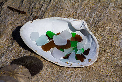 Photograph - Sea Glass Treasure  by Kirkodd Photography Of New England