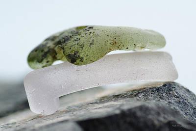 Photograph - Sea Glass Twelve by WB Johnston