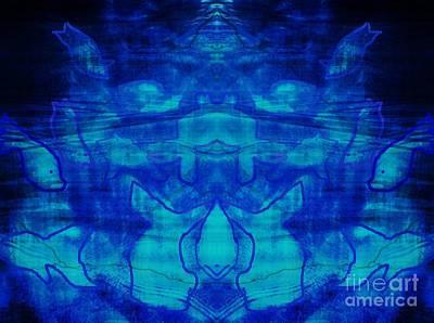 Digital Art - Sea Goddess by Diamante Lavendar