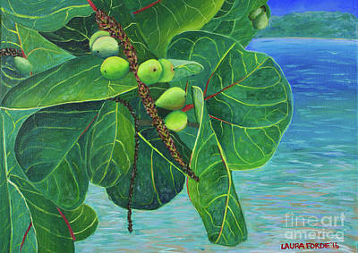 Painting - Sea Grapes by Laura Forde