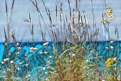 Digital Art - Sea Grass by Pennie McCracken