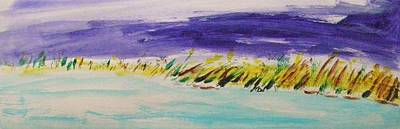 Painting - Sea Grasses by Mary Carol Williams