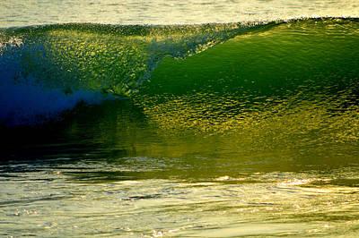 Undertow Photograph - Sea Green Cascade  by Dianne Cowen
