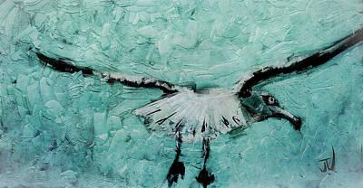 Digital Art - Sea Gull by Jim Vance