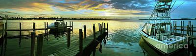 Margaritaville Photograph - Sea Hab Panoramic by Jon Neidert