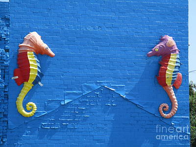 Photograph - Sea Horses by Randall Weidner
