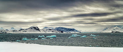 Photograph - Sea Ice Panorama by James Billings