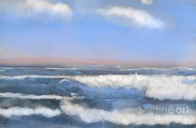 Digital Art - Sea Isle Waves by Denise Dempsey Kane