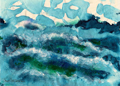 Painting - Sea by Joan Hartenstein