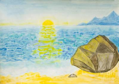 Painting - Sea Landscape, Painting by Irina Afonskaya