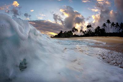 Photograph - Sea Lava by Sean Davey