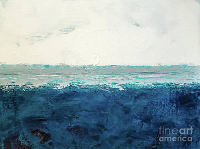 Painting - Sea Level - 40x30 by Susan Cole Kelly Impressions