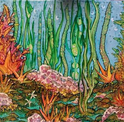 Painting - Sea Life by Betsy Carlson Cross