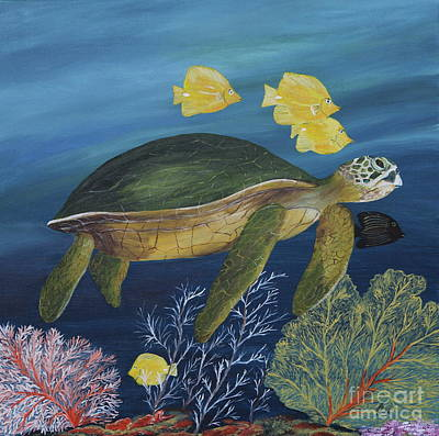 Sea Life Original by Christiane Schulze Art And Photography