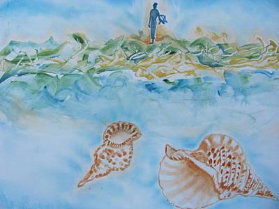 Painting - Sea Light by Vlado Katkic