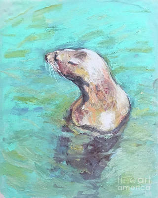 Pastel - Sea Lion by Yoshiko Mishina