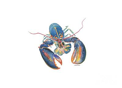 Painting - Sea Lobster by Melly Terpening