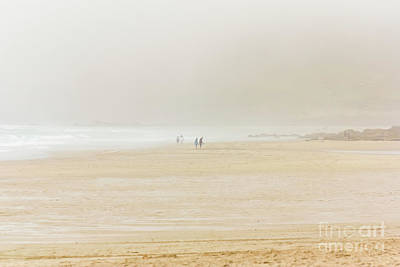 Photograph - Sea Mist At Sennen Cove by Terri Waters