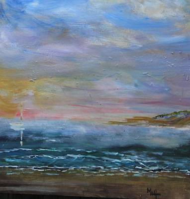 Painting - Sea Mist by Michael Helfen