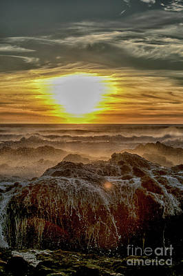 Photograph - Sea Mist Sunset by Billie-Jo Miller