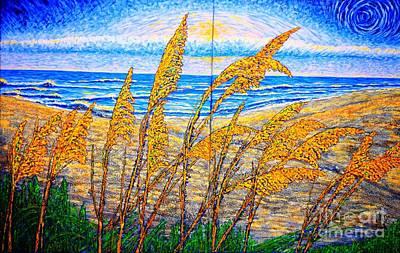 Painting - Sea Oath by Viktor Lazarev