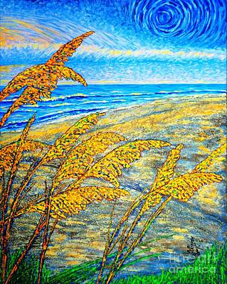 Painting - Sea Oats Dual#2 by Viktor Lazarev