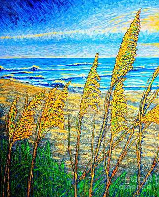 Painting - Sea Oat,dual #1 by Viktor Lazarev