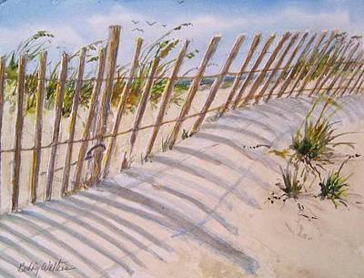 Painting - Sea Oats And Shadows by Bobby Walters