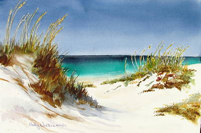 Painting - Sea Oats by Bobby Walters