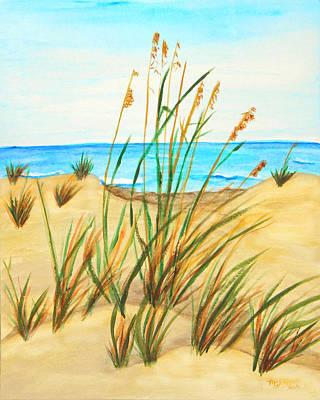 Sea Oats Original by M Gilroy