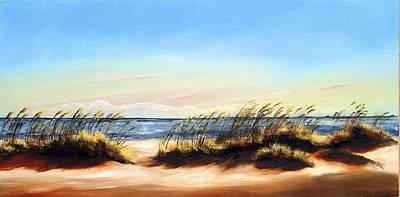 Sea Oats Art Print by Michele Snell