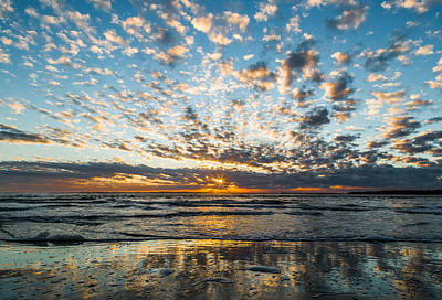 Photograph - Sea Of Clouds - Folly Beach Sc by Donnie Whitaker
