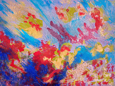 Sandra Silva Painting - Sea Of Color by Sandra Silva