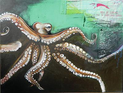 Graphics Painting - Sea Of Cortez by Anastasia Boulton