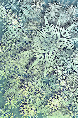 Susann Serfezi Photograph - Sea Of Flakes by AugenWerk Susann Serfezi