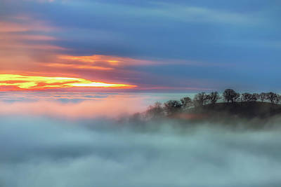 Photograph - Sea Of Fog by Marc Crumpler