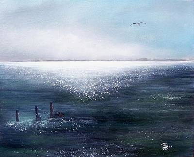 Sea Of  Glass Art Print by Tony Rodriguez