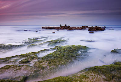 Silky Photograph - Sea Of Milk by Amnon Eichelberg