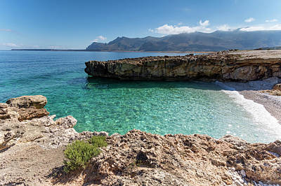 San Vito Lo Capo Photograph - Sea Of Sicily, Macari II by Davide Damico